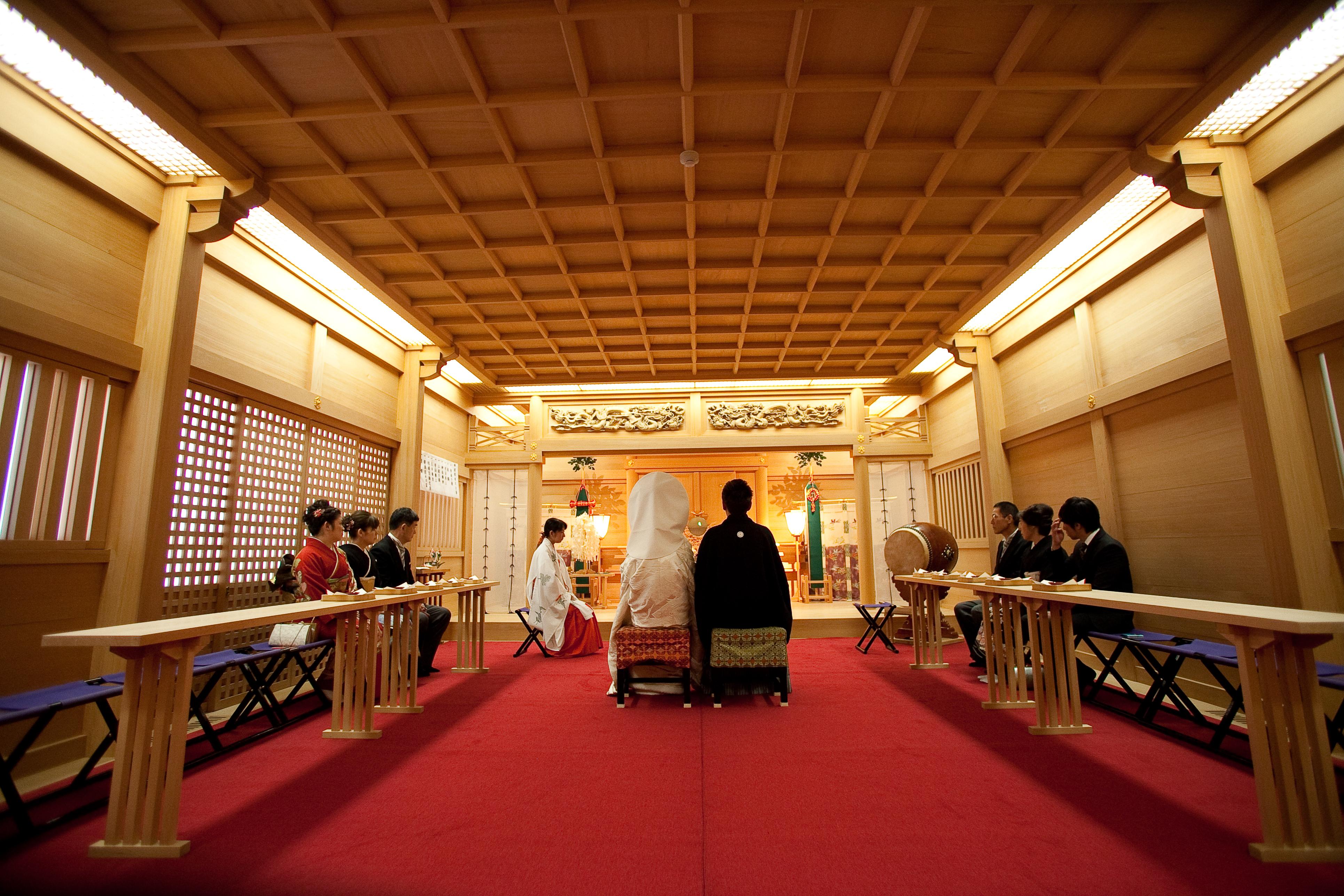 神社挙式のイメージ